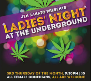 Ladies Night Underground Cafe
